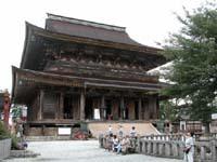 世界遺産に登録された蔵王堂