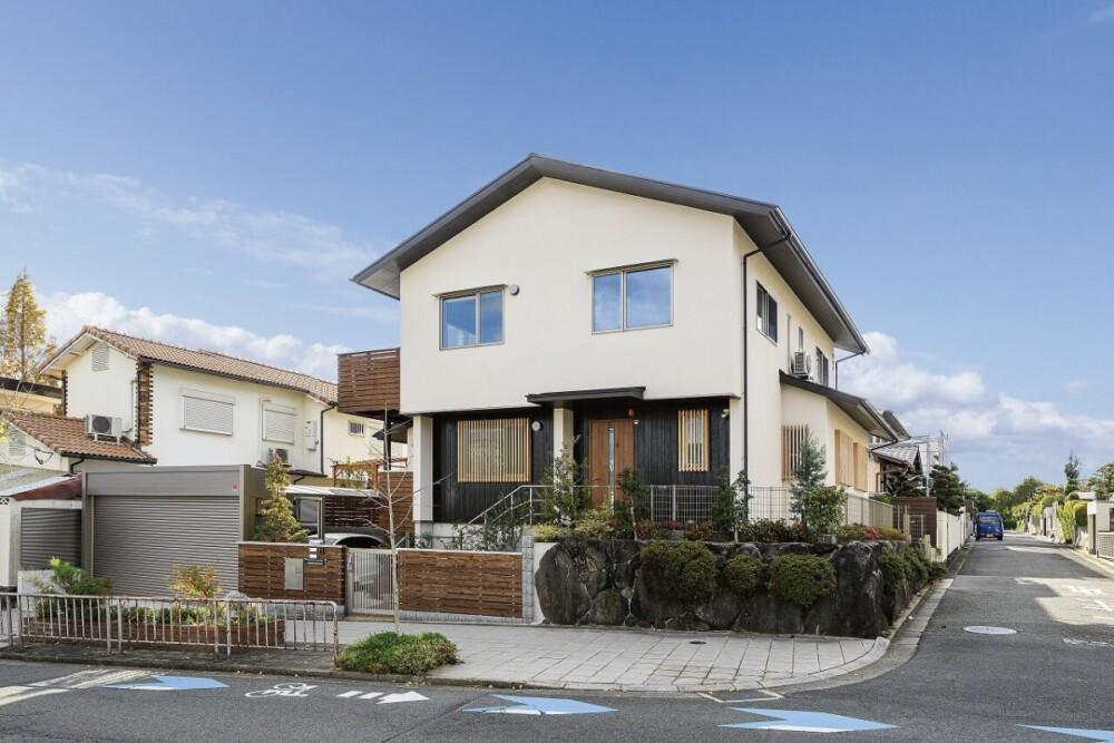 どちらも広々 二世帯住宅の木の家(箕面市)