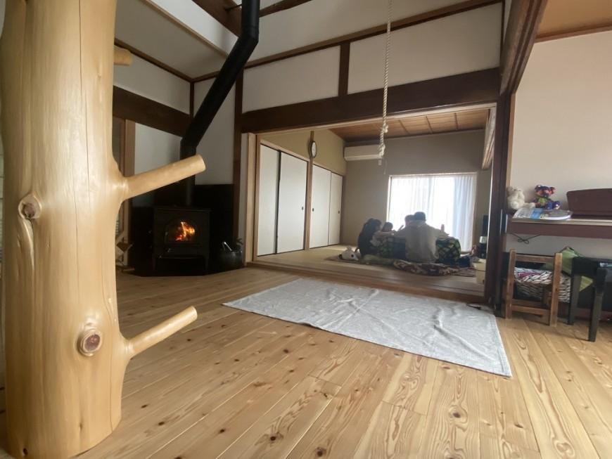 古民家リフォームの1年点検で目にした日本の原風景!