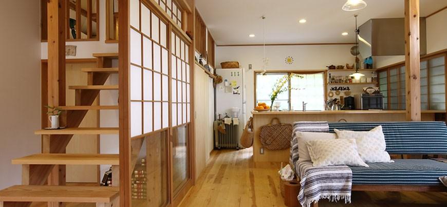 ロフトのある平屋住宅リフォーム(豊能町)