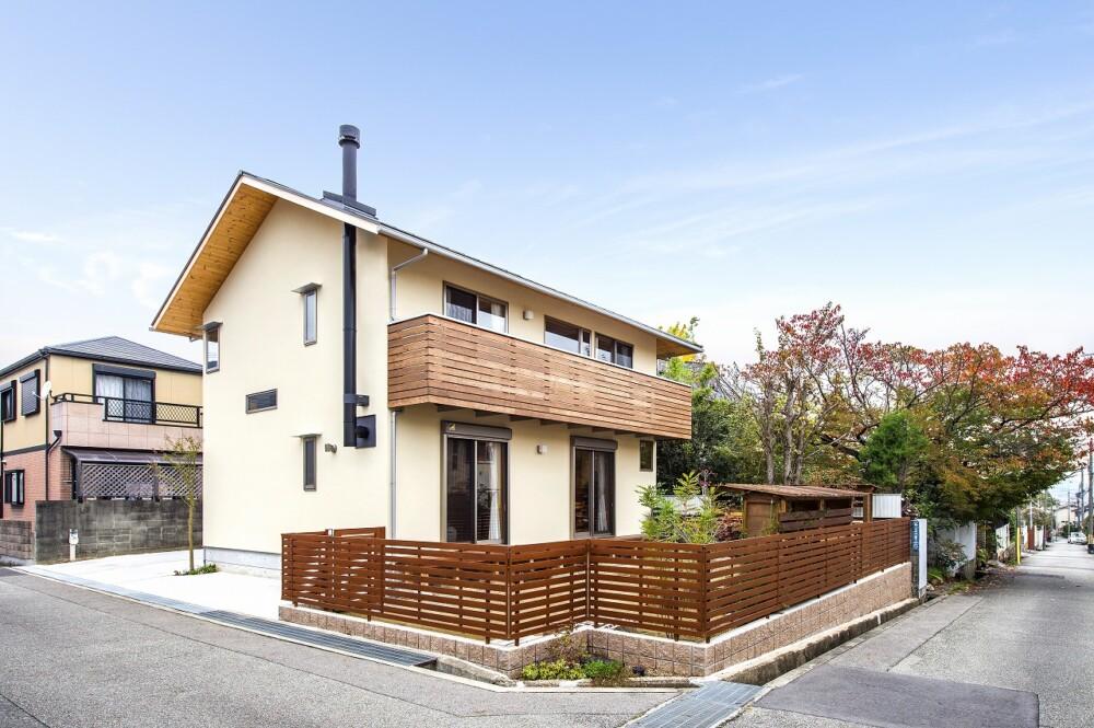 すっきり片付く木の家(宝塚市)